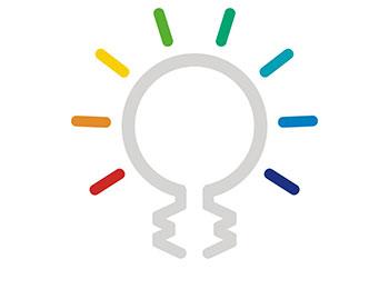 Colour Model lightbulb diagram